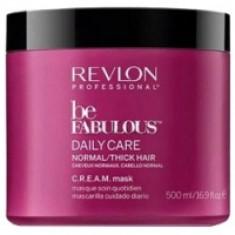 Revlon Professional Be Fabulous C.R.E.A.M. Mask - Маска для нормальных, густых волос, 500 мл
