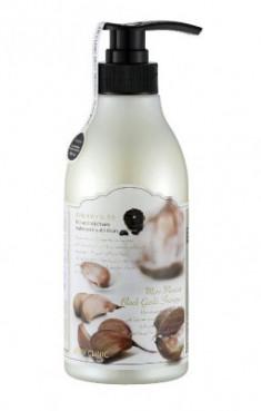 Шампунь для волос с экстрактом черного чеснока увлажняющий 3W Clinic More Moisture Black Garlic 500 мл