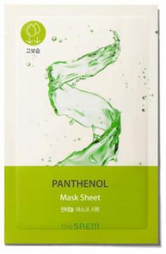 Маска тканевая с пантенолом THE SAEM BIO SOLUTION Moisturizing Panthenol Mask Sheet 20г
