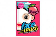 Маска для лица тканевая осветляющая BLING POP Peach Firming & Brightening Mask 20мл