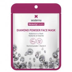 Маска для сияния кожи Sesderma BEAUTYTREATS Diamond powder face mask 22мл
