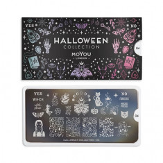 MoYou London, Плитка для стемпинга Halloween №04