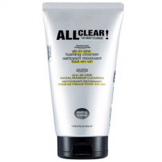 The Face Shop All Clear AllInOne Facial Makeup Cleanser