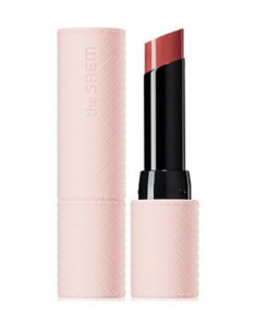 Помада для губ глянцевая THE SAEM Kissholic Lipstick Glam Shine BR01 Burnt Rose 4,5г