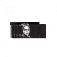 Трёхкомпонентный комплекс масок АКТИВНЫЙ ЛИФТИНГ И ВОССТАНОВЛЕНИЕ Double Dare OMG! Platinum Silver Facial Mask Kit 5 шт