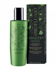 Шампунь для ослабленных и поврежденных волос Orofluido Amazonia Shampoo 200 мл