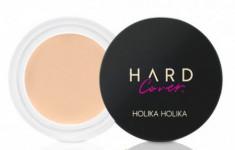 Консилер кремовый Holika Holika Hard Cover Cream Concealer 01 Warm Ivory, светло-бежевый 6 г