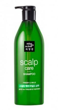 Восстанавливающий шампунь для чувствительной кожи головы MISE EN SCENE Scalp Care Shampoo 680 мл