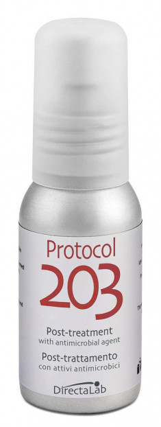 DIRECTALAB Эмульсия пост-процедурная для кожи лица / Protocol 203 Post-treatment with antimicrobial agent 50 мл
