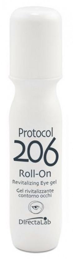 DIRECTALAB Гель восстанавливающий роликовый для кожи вокруг глаз / Protocol 206 Rivitalizing Eye roll-on gel 15 мл