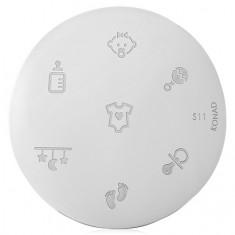 Konad, диск для стемпинга S11