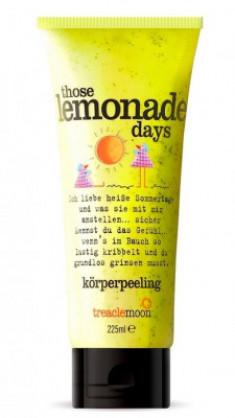Скраб для тела домашний лимонад Treaclemoon Those Lemonade Days Body Scrub 225 мл