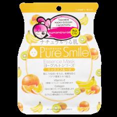 Маска тканевая на йогуртовой основе с фруктами SunSmile 23 мл