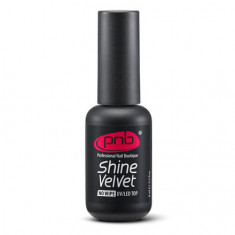 PNB, Топ для гель-лака Shine Velvet No Wipe, 8 мл