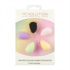 Набор цветных корректириующих спонжей Makeup Revolution Mini Pro Colour Correct Sponge Set