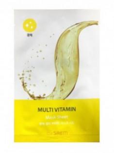 Маска тканевая с витаминами The Saem BIO SOLUTION Radiance Multi Vitamin Mask Sheet 20г