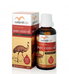 REBIRTH Масло восстановительное Эму / Platinum Pure Emu Oil 50 мл