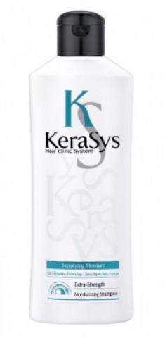 Шампунь увлажняющий для сухих и ломких волос KeraSys Extra-strength moisturizing180 мл