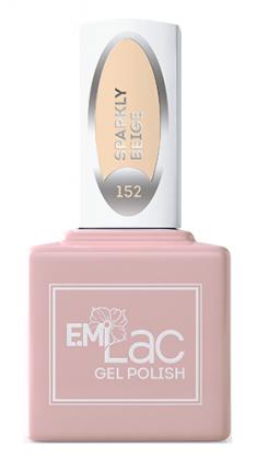 E.MI 152 WEC гель-лак для ногтей, Сверкающий беж / E.MiLac 9 мл