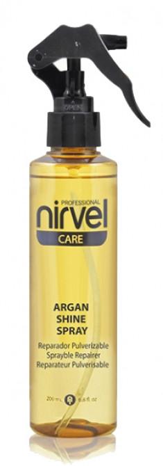 NIRVEL PROFESSIONAL Спрей блеск с маслом арганы для волос / ARGAN SHINE SPRAY 200 мл