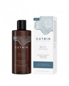 Шампунь-бустер для укрепления волос у мужчин Cutrin BIO+ Energy Boost 250 мл