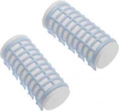 DEWAL BEAUTY Бигуди термо голубые d 28 x 68 мм 6 шт