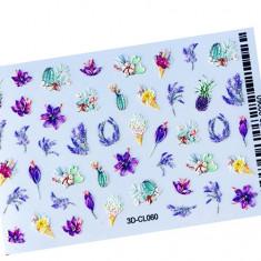 AnnaTkacheva,3D-стикерCL№060 «Цветы. Лето» Anna Tkacheva