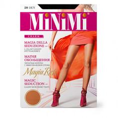 Колготки женские MINIMI MAGIA RETE с эффектом мелкой сеточки тон Nero р-р 3