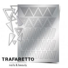 Trafaretto, Металлизированные наклейки GM-04, серебро