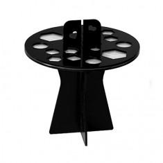 IRISK, Подставка-органайзер для сушки кистей, 16 ячеек, черная