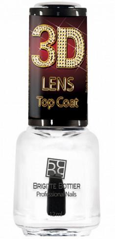 BRIGITTE BOTTIER Покрытие топовое для ногтей / 3D Lens Top Coat LTC 12 мл