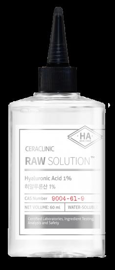 EVAS Сыворотка универсальная для волос и кожи Гиалурон / CERACLINIC Raw Solution Hyaluronic Acid 1% 60 мл