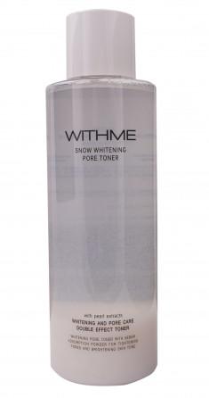 EVAS Тонер осветляющий для лица / WITHME Snow Whitening Pore Toner 500 мл