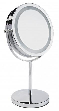 GEZATONE Зеркало косметологическое двухстороннее со светодиодной подсветкой LM194
