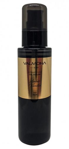 EVAS Сыворотка для волос Ваниль / VALMONA ULTIMATE HAIR OIL SERUM, AMBER VANILLA 100 мл