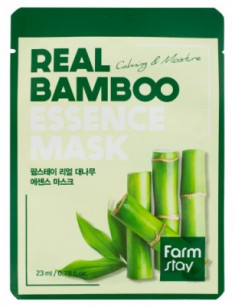 Тканевая маска для лица с экстрактом бамбука FarmStay REAL BAMBOO ESSENCE MASK 23мл