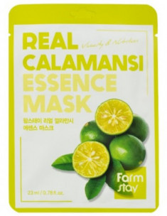Тканевая маска для лица с экстрактом каламанси FarmStay REAL CALAMANSI ESSENCE MASK 23мл