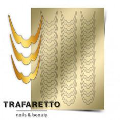 Trafaretto, Металлизированные наклейки CL-09, золото