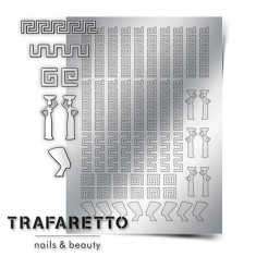 Trafaretto, Металлизированные наклейки OR-01, серебро