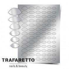 Trafaretto, Металлизированные наклейки CL-10, серебро