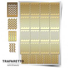 Trafaretto, Трафареты «Принт», зигзаг