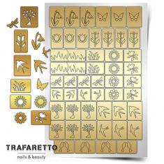 Trafaretto, Трафареты «Времена года. Весна»