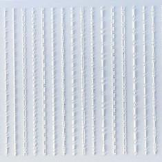 Anna Tkacheva, 3D-стикер №041 «Геометрия. Полоски», белый