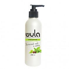 WULA Nailsoul, Крем для ног «Зеленый чай и мята», 200 мл