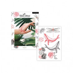 Miami Tattoos, Набор переводных тату Africa by Marta Bocharova, 6 листов