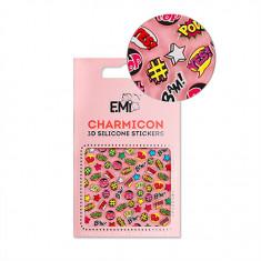 E.Mi, 3D-стикеры Charmicon №128 «Поп-Арт»