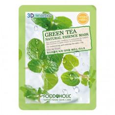 Foodaholic, Тканевая маска для лица Green Tea, 23 г