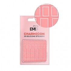 E.Mi, 3D-стикеры Charmicon №114 «Квадраты белые»