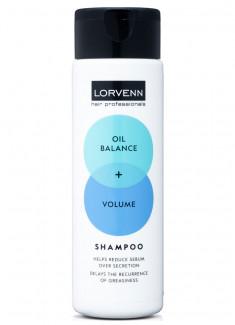 Шампунь «Объем+баланс» для жирных волос LORVENN