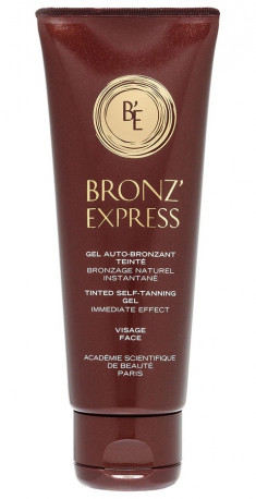 ACADEMIE Гель-автозагар для лица / Bronz'express 75 мл